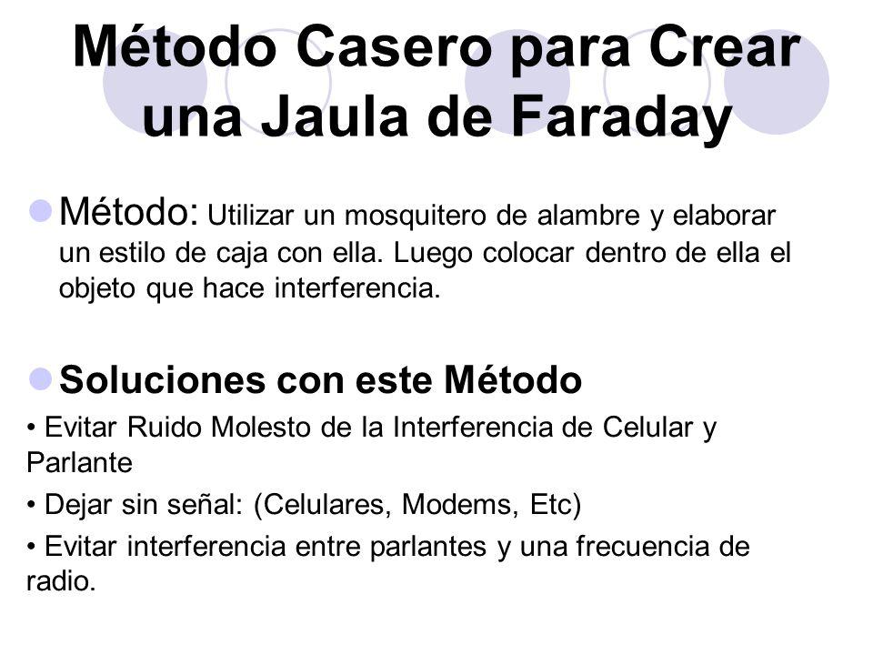 Método Casero para Crear una Jaula de Faraday