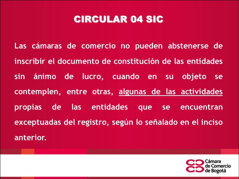 CIRCULAR 04 SIC