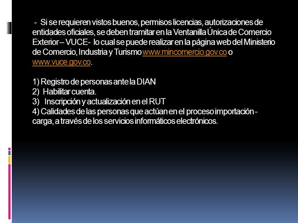 Dian y ministerio de comercio industia y turismo ppt for Pagina web del ministerio