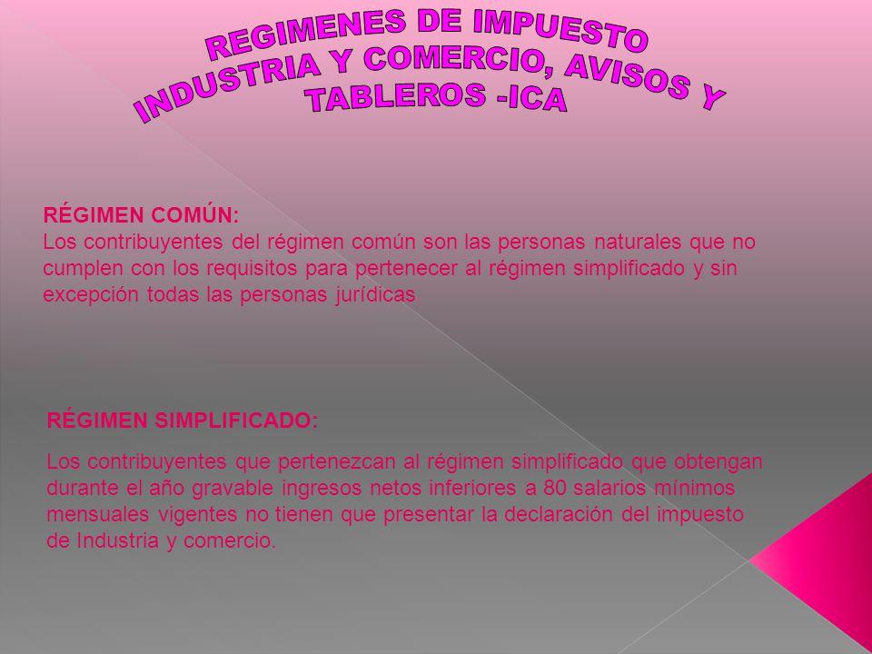INDUSTRIA Y COMERCIO, AVISOS Y