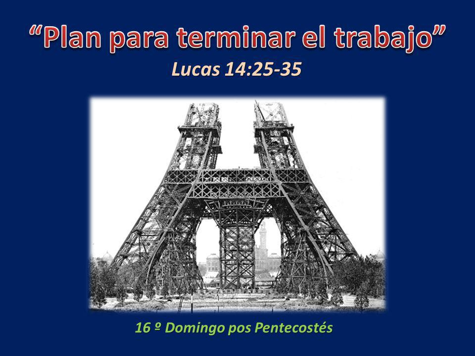 16 º Domingo pos Pentecostés