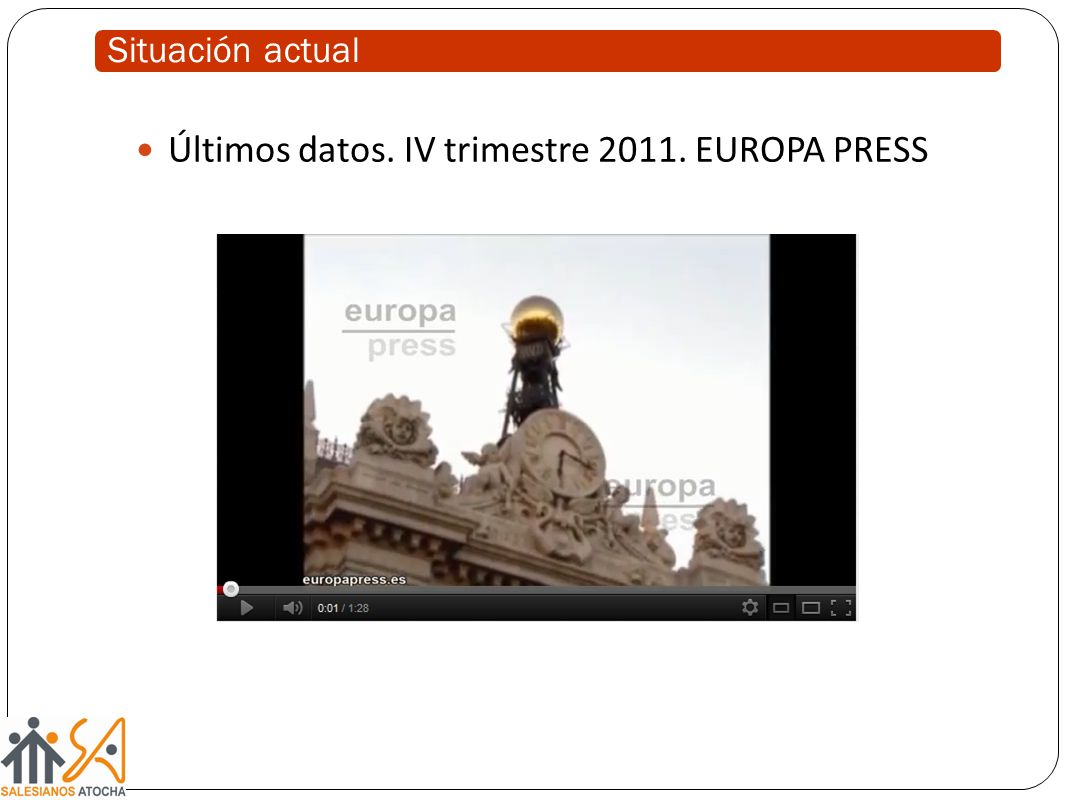 Últimos datos. IV trimestre EUROPA PRESS