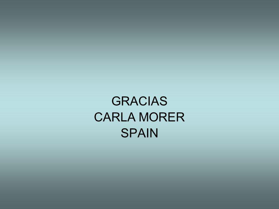 GRACIAS CARLA MORER SPAIN