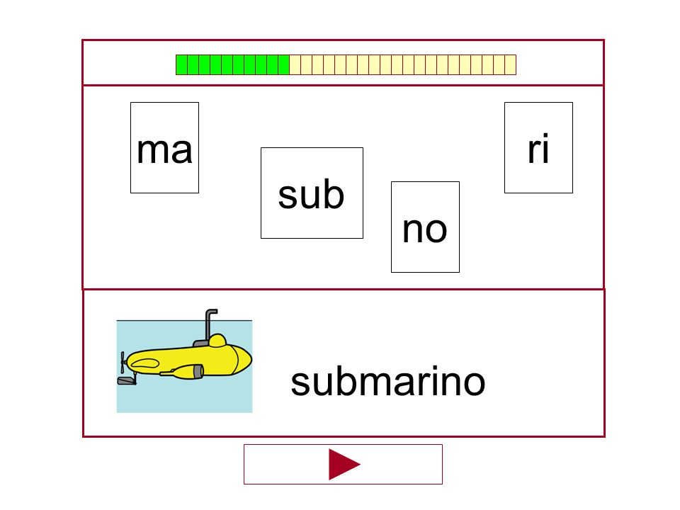 ma ri sub no submarino …