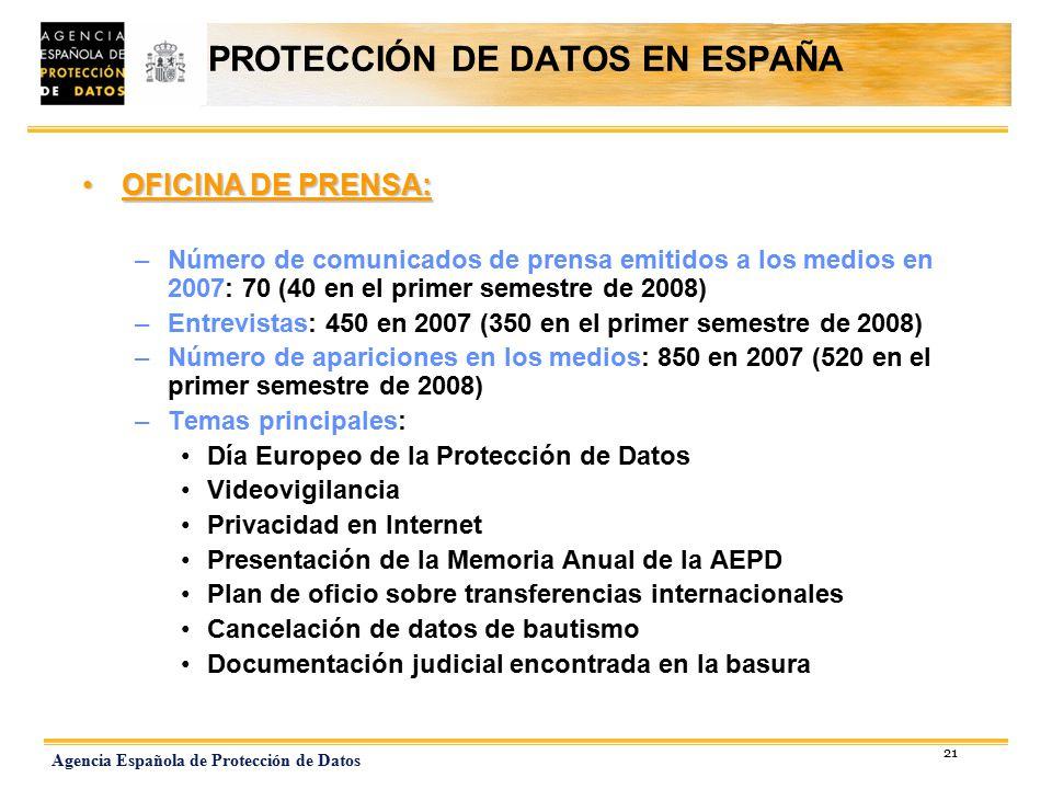 Director de la agencia espa ola de protecci n de datos for Oficina proteccion datos