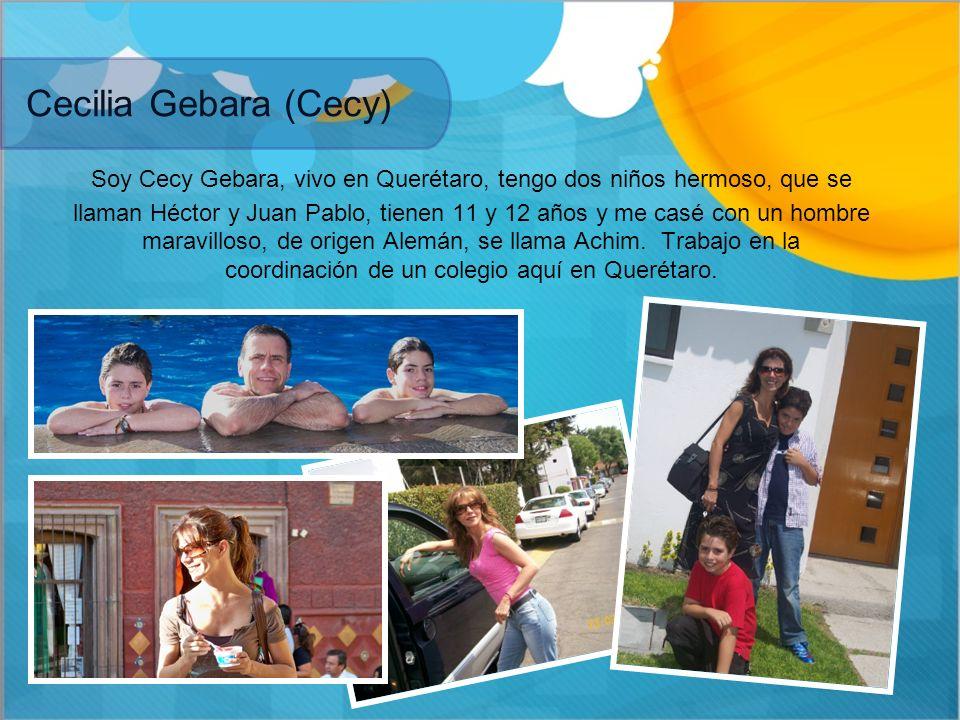 Cecilia Gebara (Cecy)