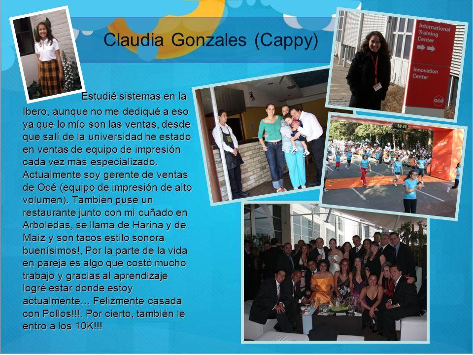 Claudia Gonzales (Cappy)