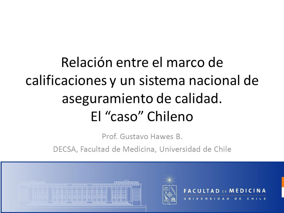 DECSA, Facultad de Medicina, Universidad de Chile