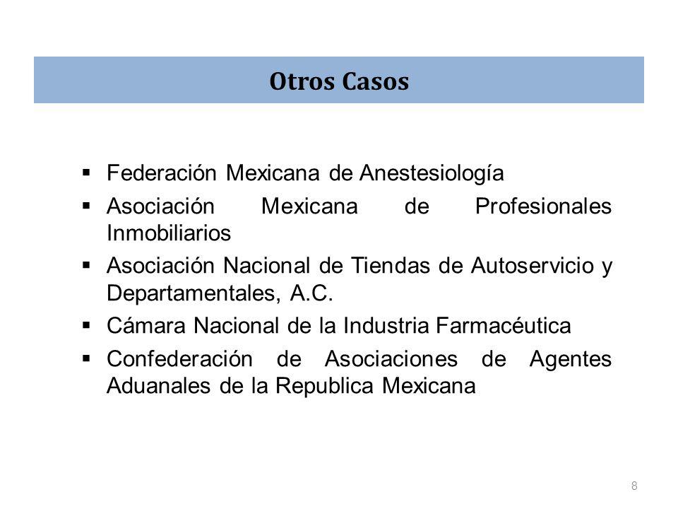 Otros Casos Federación Mexicana de Anestesiología
