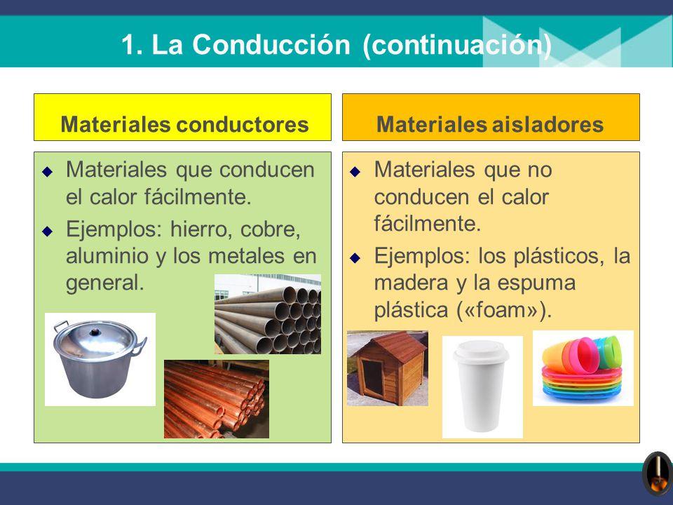 4 secundaria f sica energ a ppt descargar - Materiales aislantes de frio ...