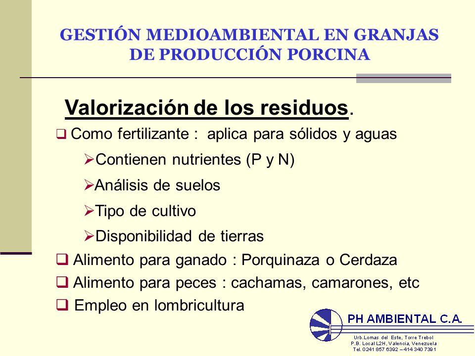 Gesti n medioambiental en granjas de producci n porcina Lagunas para cachamas