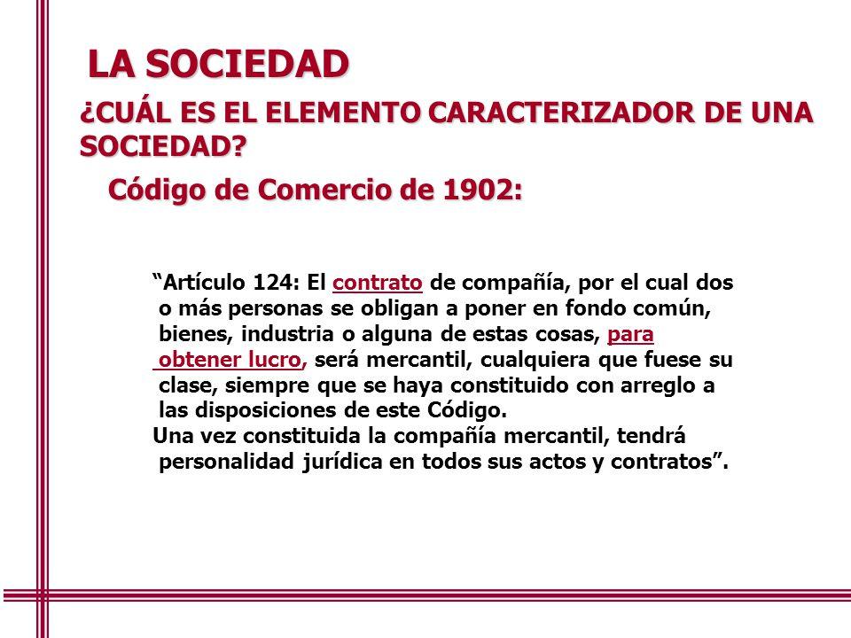 LA SOCIEDAD ¿CUÁL ES EL ELEMENTO CARACTERIZADOR DE UNA SOCIEDAD
