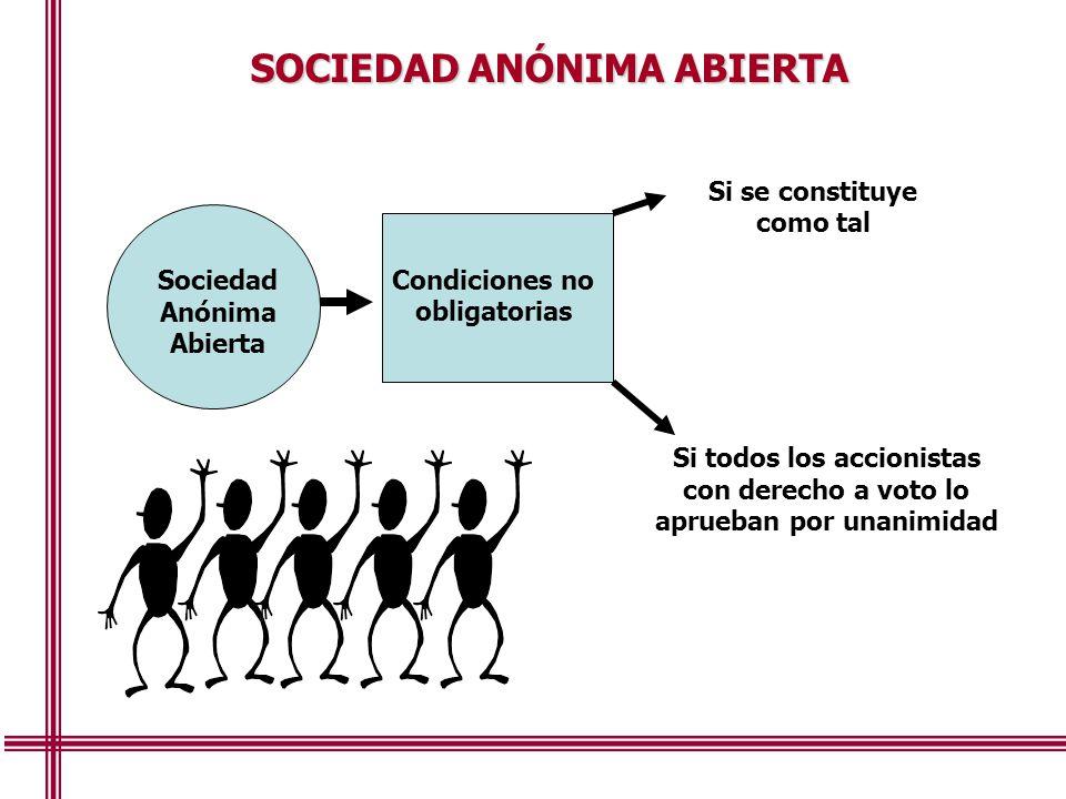 SOCIEDAD ANÓNIMA ABIERTA