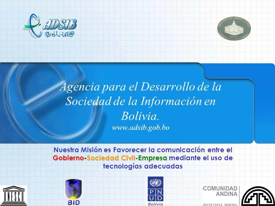 Agencia para el Desarrollo de la Sociedad de la Información en Bolivia