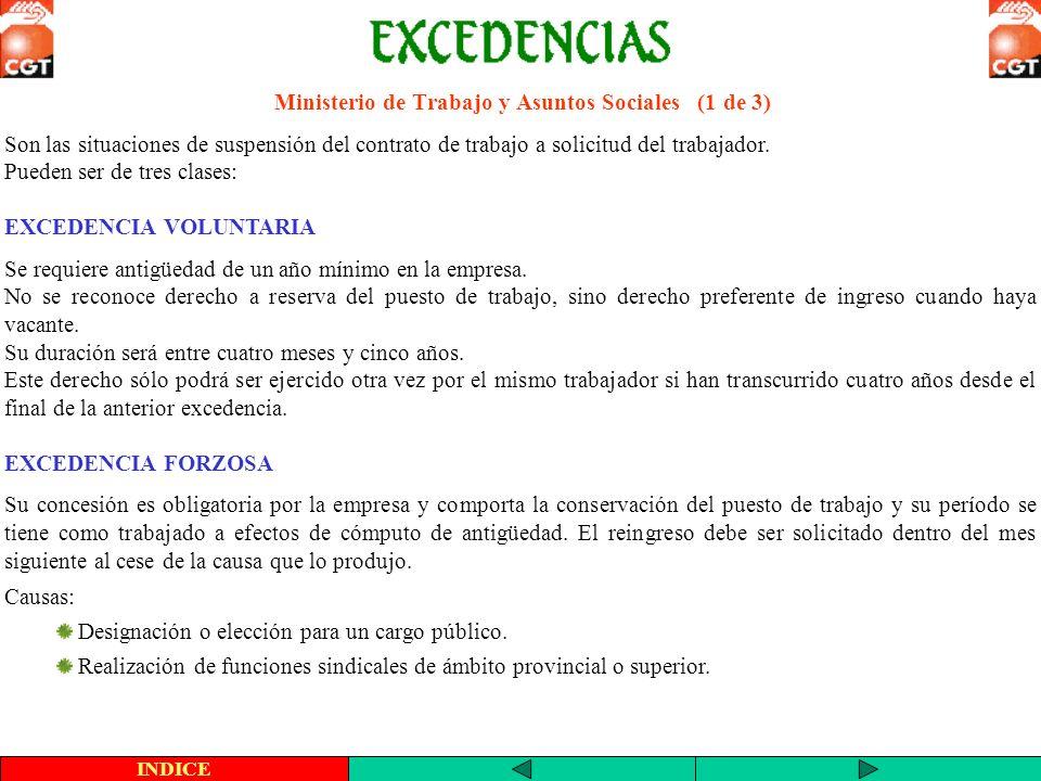 Ministerio de Trabajo y Asuntos Sociales (1 de 3)