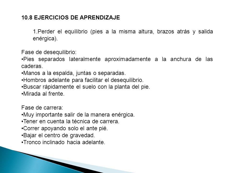 10.8 EJERCICIOS DE APRENDIZAJE