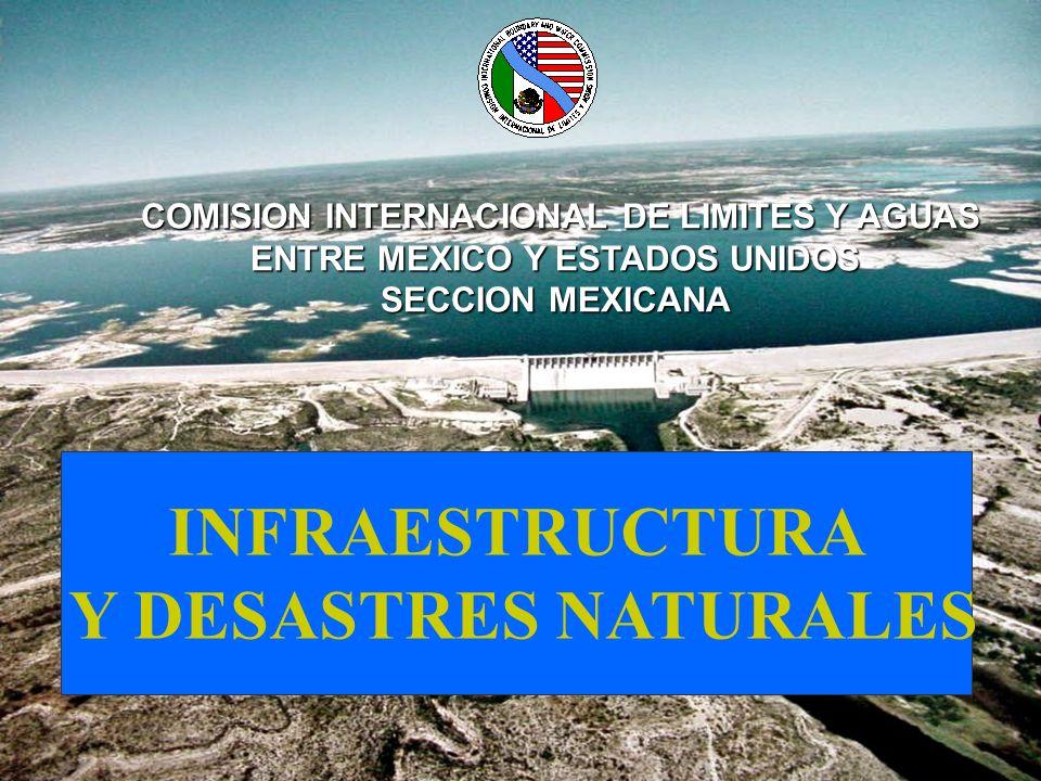INFRAESTRUCTURA Y DESASTRES NATURALES