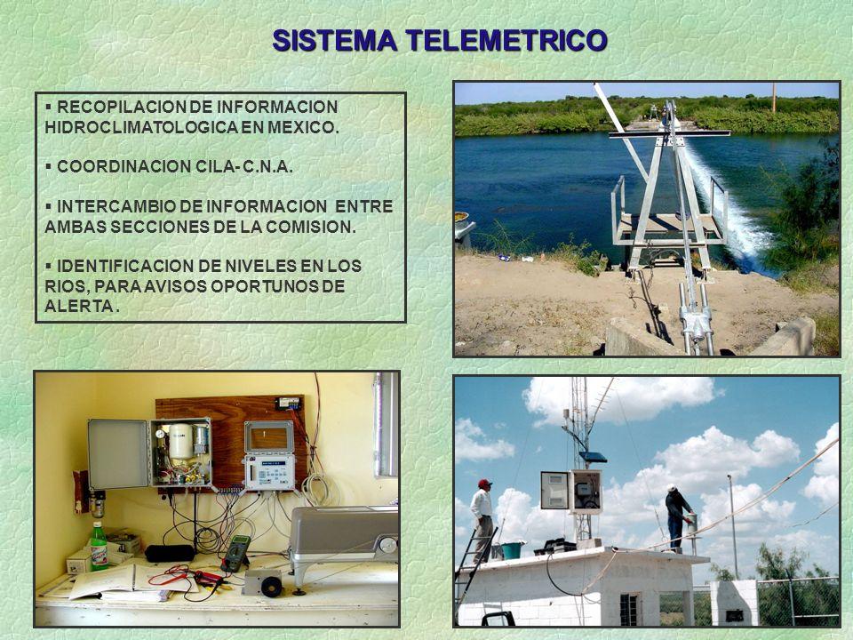 SISTEMA TELEMETRICO RECOPILACION DE INFORMACION
