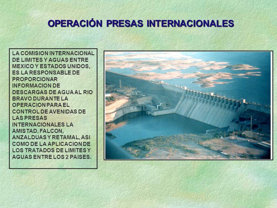 OPERACIÓN PRESAS INTERNACIONALES