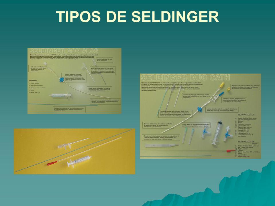TIPOS DE SELDINGER