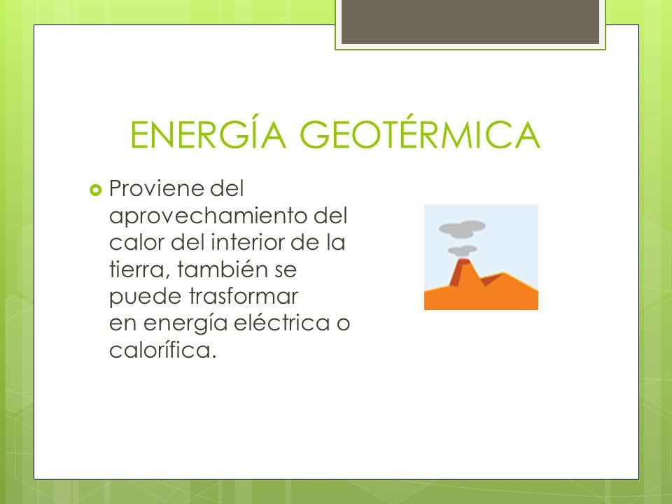 Fuentes y tipos de energ a ppt descargar - En que consiste la energia geotermica ...
