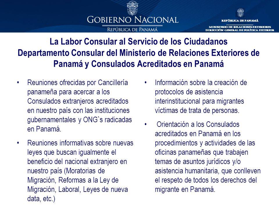 Labor Consular Al Servicio De Los Ciudadanos Ppt Descargar