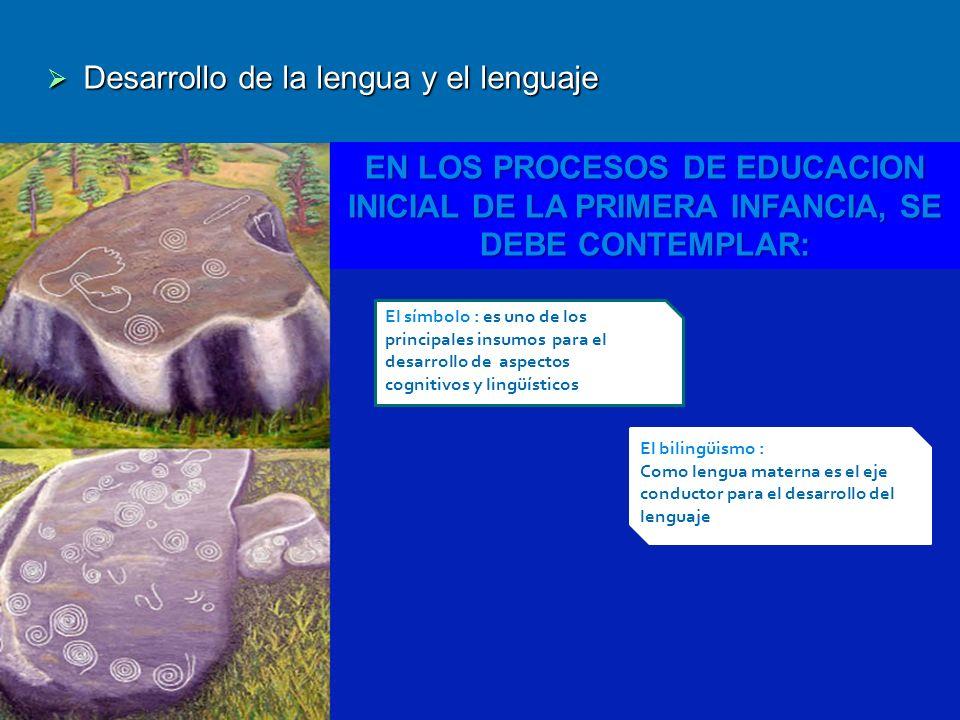 Desarrollo de la lengua y el lenguaje