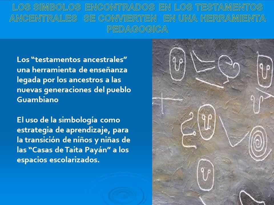 LOS SIMBOLOS ENCONTRADOS EN LOS TESTAMENTOS ANCENTRALES SE CONVIERTEN EN UNA HERRAMIENTA PEDAGOGICA