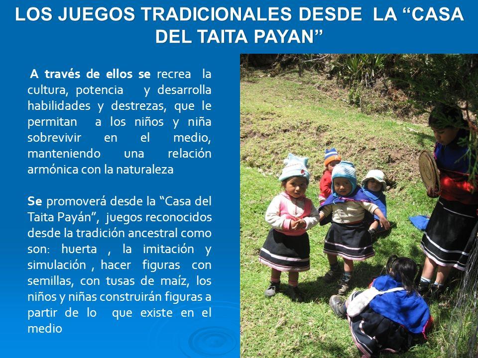 LOS JUEGOS TRADICIONALES DESDE LA CASA DEL TAITA PAYAN