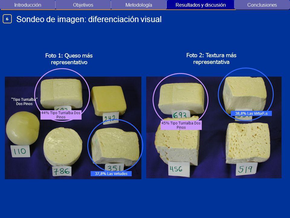 Sondeo de imagen: diferenciación visual