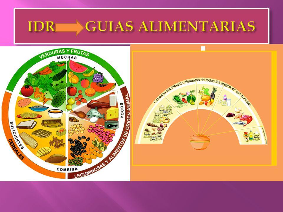 IDR GUIAS ALIMENTARIAS