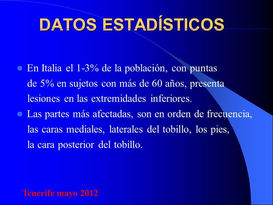 DATOS ESTADÍSTICOS En Italia el 1-3% de la población, con puntas