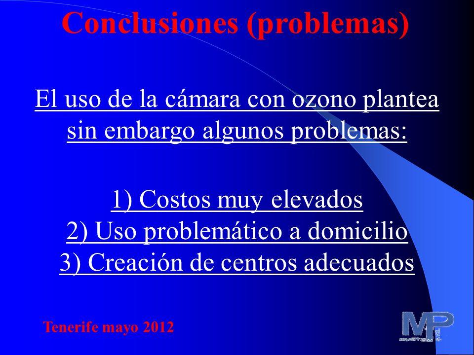 Conclusiones (problemas)