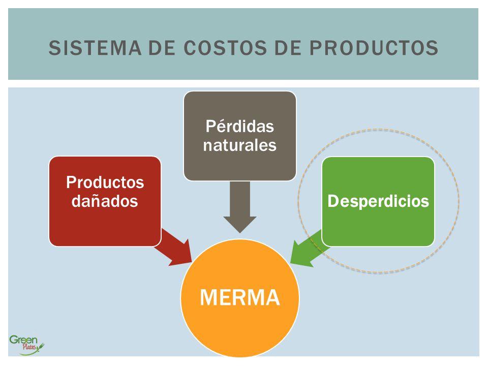 Sistema de costos de productos