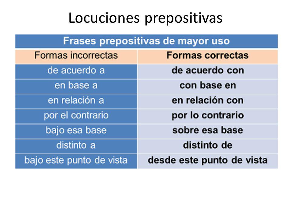 Locuciones prepositivas