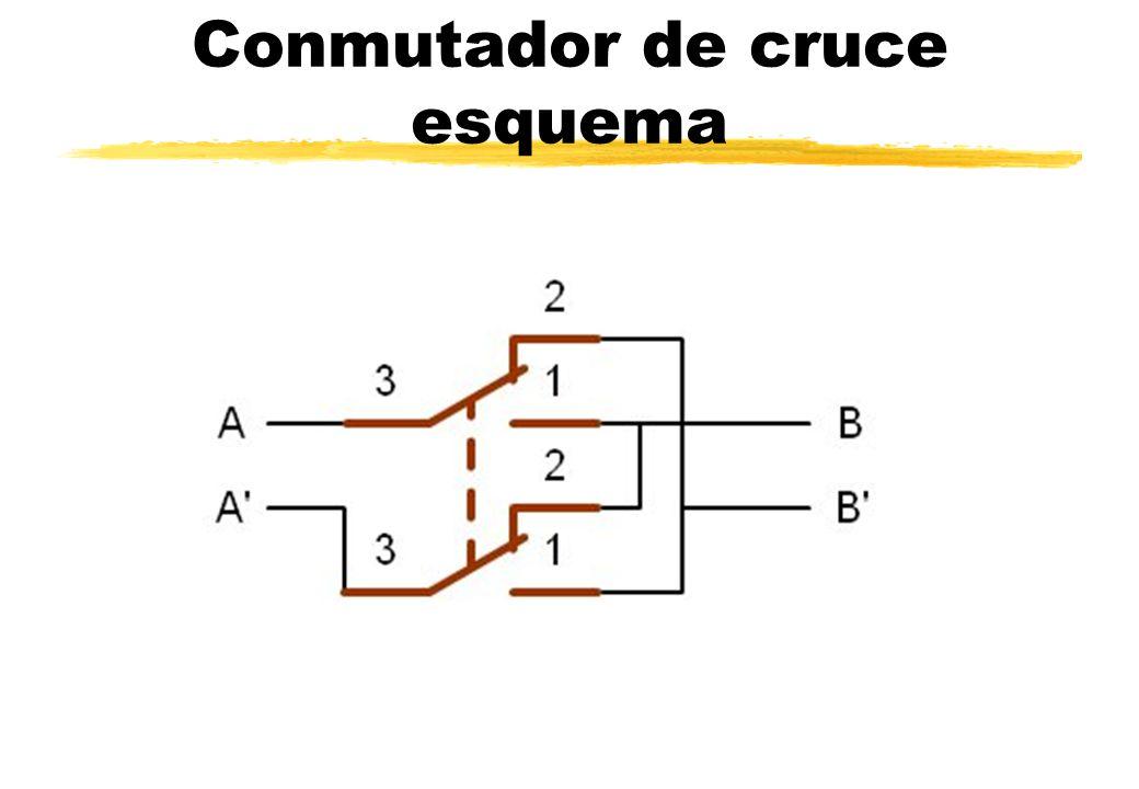 Pr cticas de instalaciones el ctricas en viviendas ppt - Interruptor de cruce ...