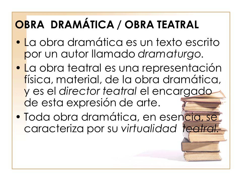 G nero dram tico ppt descargar for La cocina obra de teatro