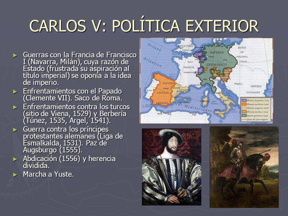 La espa a de los austrias ppt descargar for La politica exterior de espana