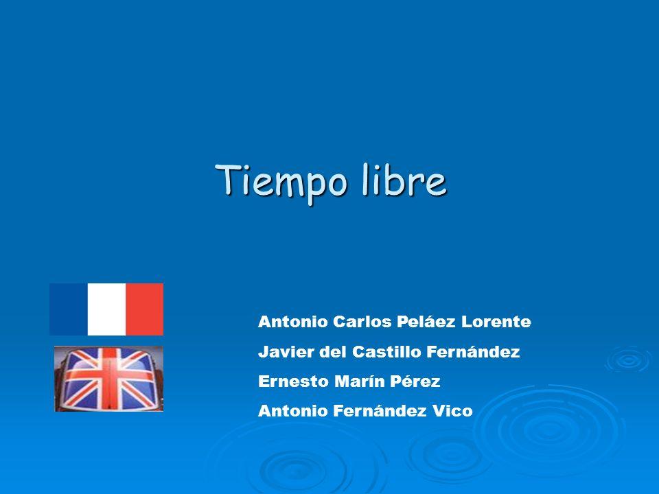 Tiempo libre Antonio Carlos Peláez Lorente