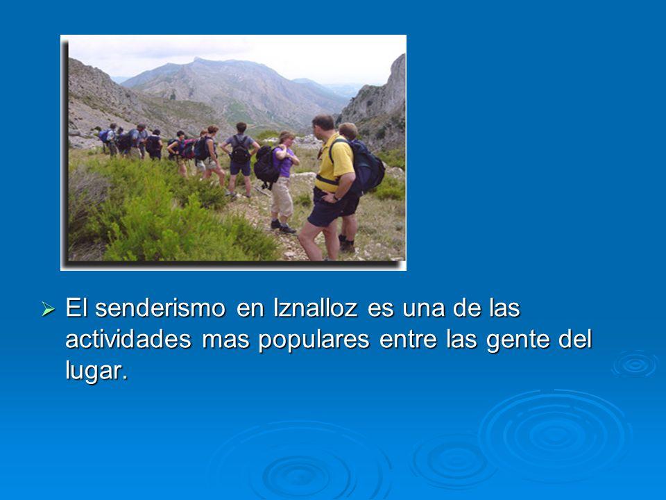 El senderismo en Iznalloz es una de las actividades mas populares entre las gente del lugar.