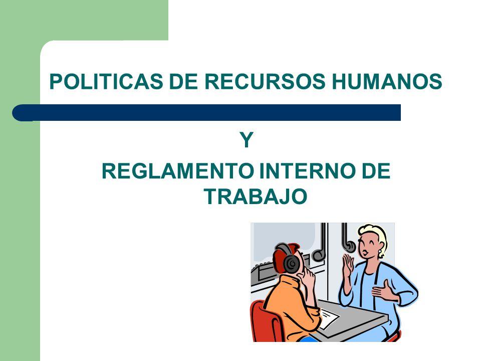 Ejemplo De Reglamento Interior De Trabajo En Mexico