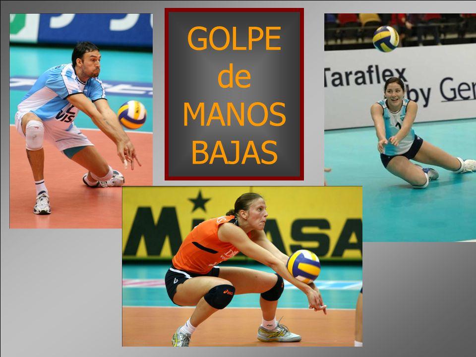 GOLPE de MANOS BAJAS