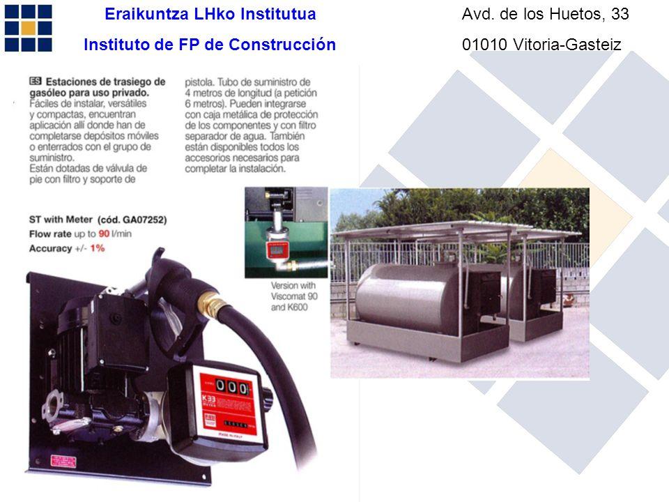Eraikuntza LHko Institutua Instituto de FP de Construcción