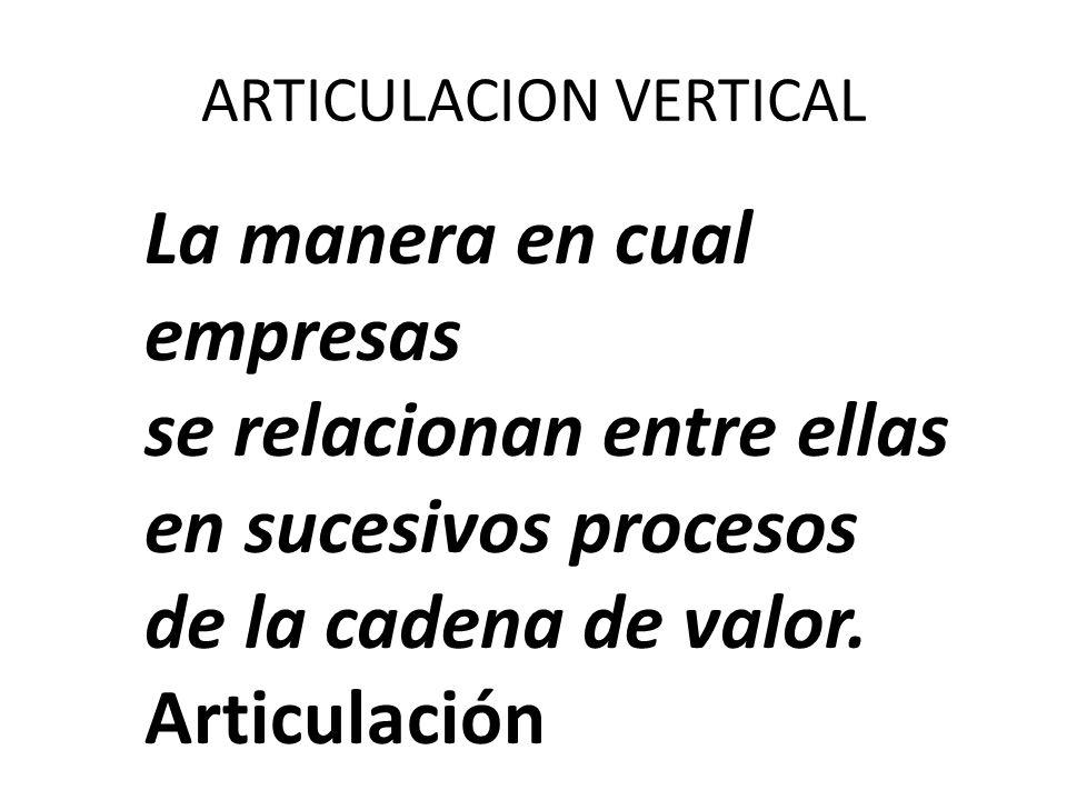 ARTICULACION VERTICAL