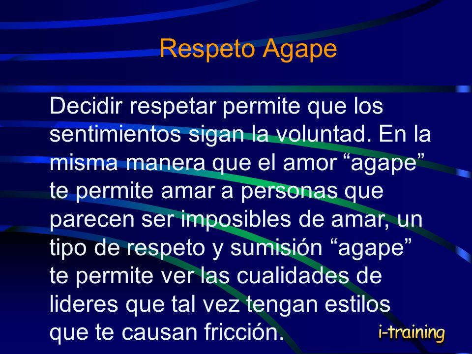 Respeto Agape