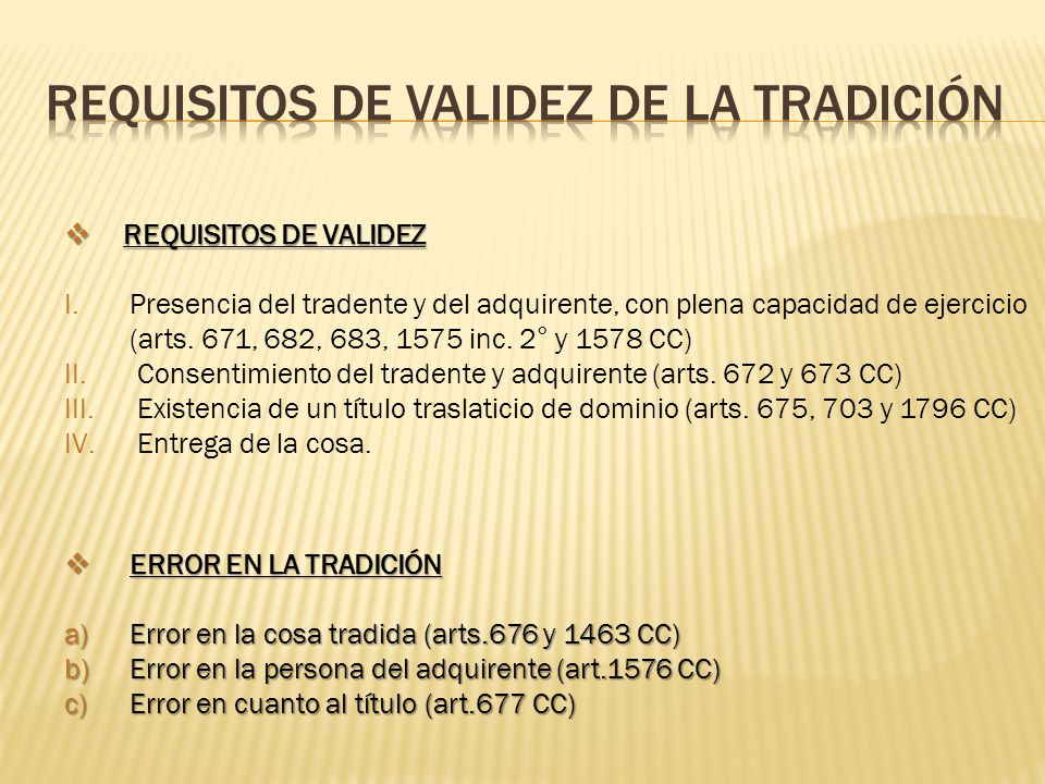 Modos de adquirir los derechos reales ppt descargar for Art 1576 cc