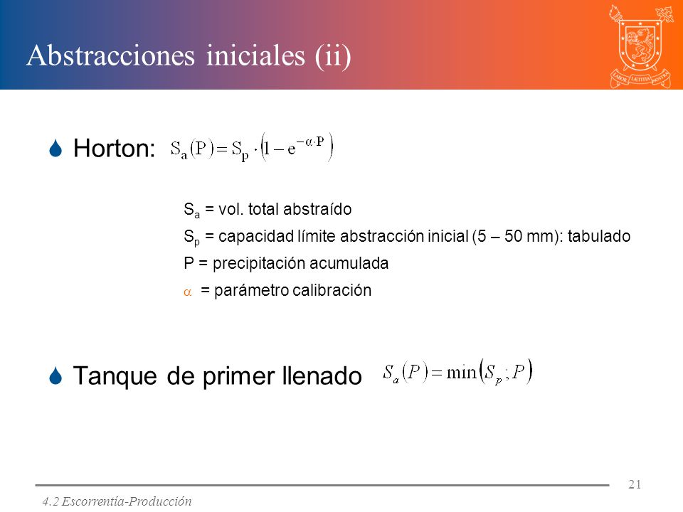 Abstracciones iniciales (ii)