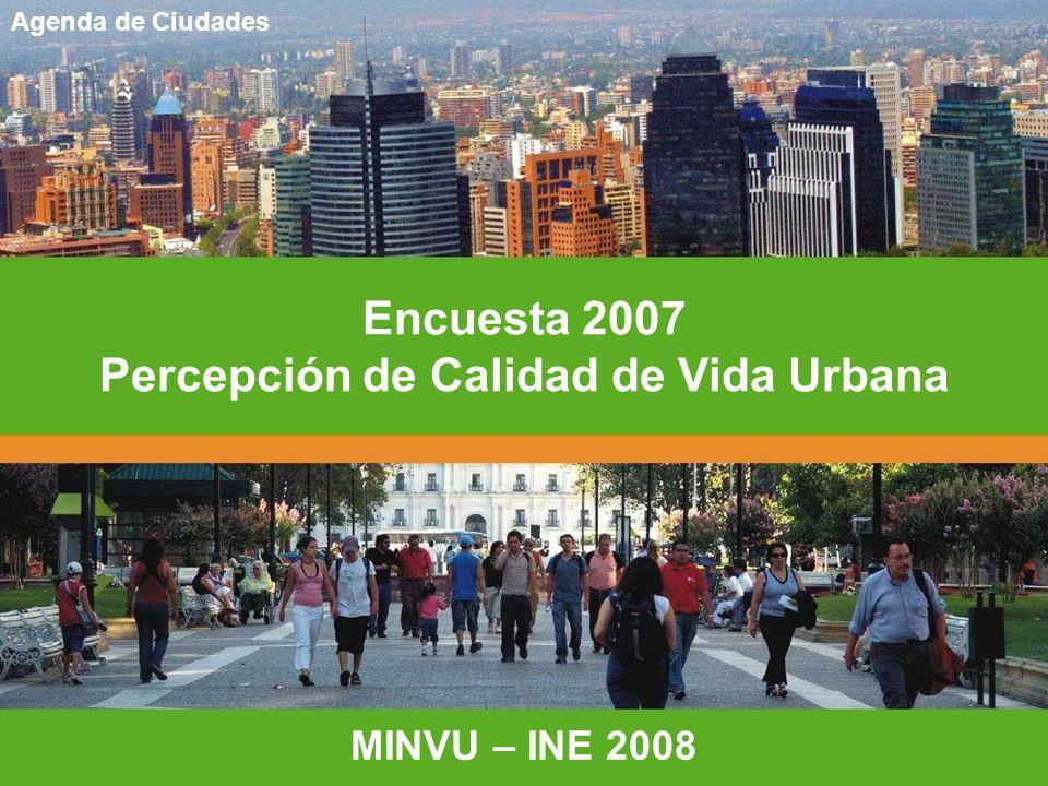 Percepción de Calidad de Vida Urbana
