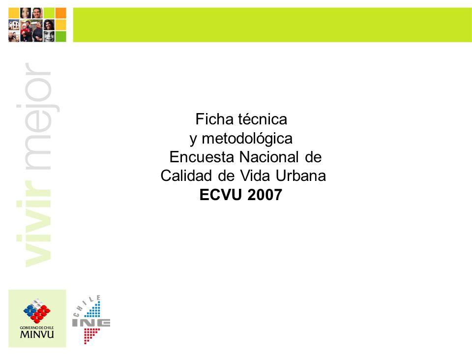 Ficha técnica y metodológica Encuesta Nacional de