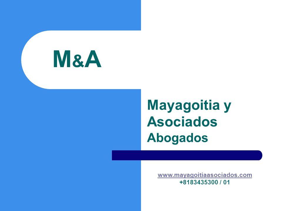 Mayagoitia y Asociados Abogados